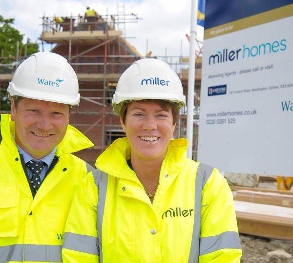 Miller Homes & Wates Developments announce joint venture