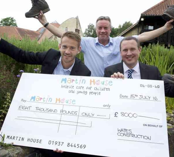Childrens hospice given a charitable boost by Wates Construction