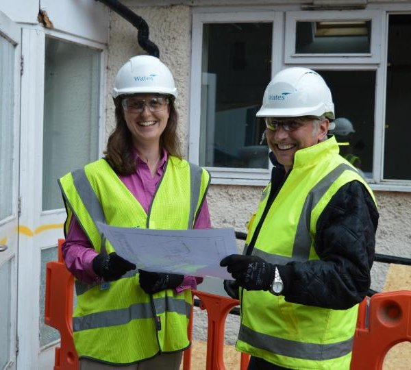 Building work begins on new Wiltshire Childrens Hospice