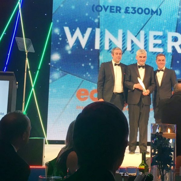 Double success for Wates at Building Awards