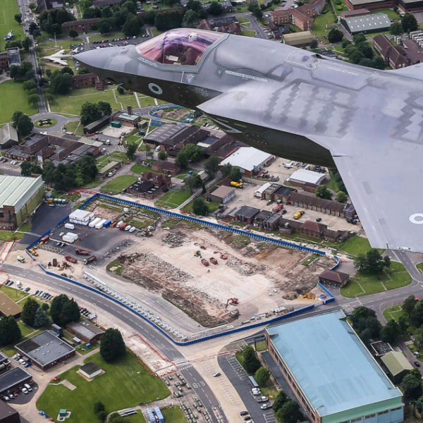 Wates' work on next generation aircraft base brings boost to Norfolk economy
