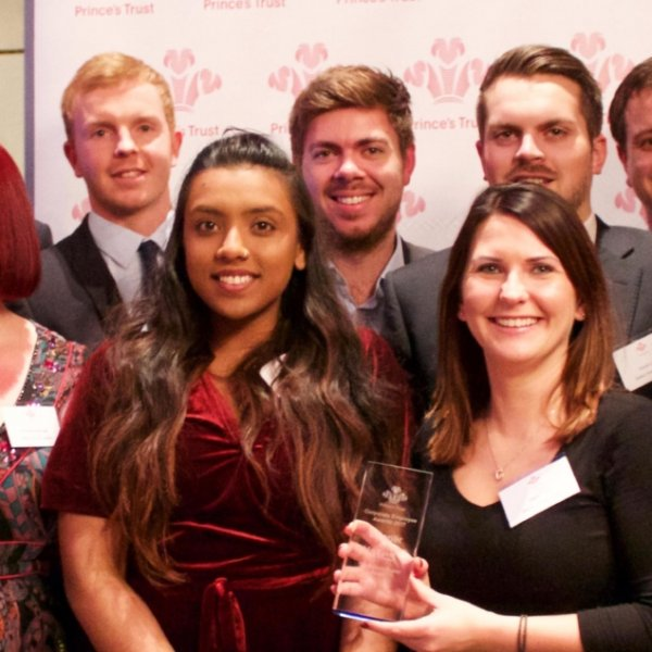 Wates support for young people recognised by Princes Trust award