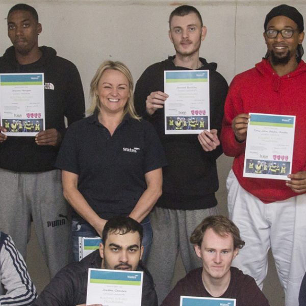 Wates Residential provides training for Manchester's Jobseekers
