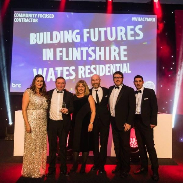 Town reaps benefits of Wates and Flintshire County Council Partner