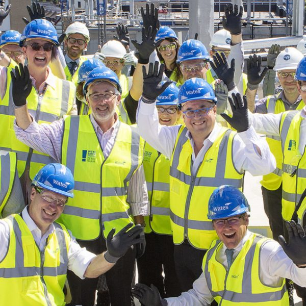 Leeds City College holds topping out ceremony