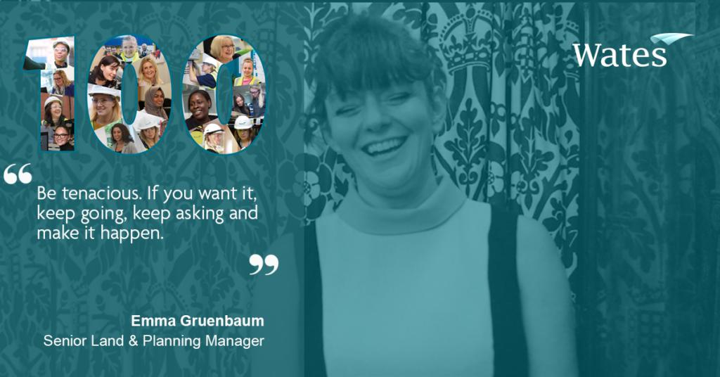 Emma Gruenbaum, Senior Land & Planning Manager, Wates Developments