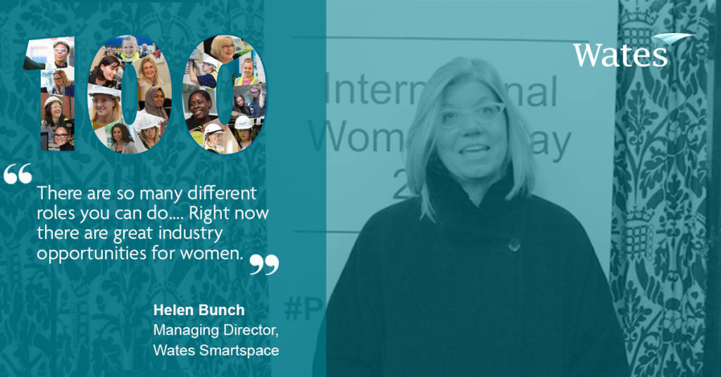 Helen Bunch, Managing Director, Wates Smartspace