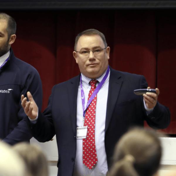 Spennymoor boss goes back to school for Skills Investment career talks