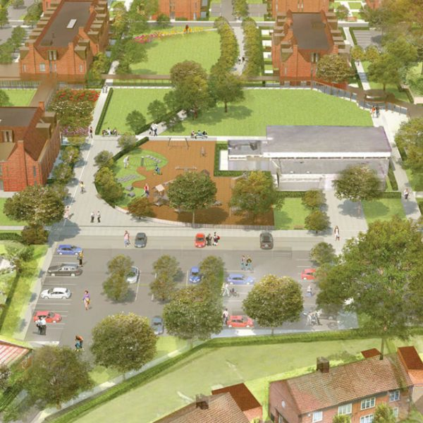 Wates Residential commit to community as part of JRHT's New Lodge development