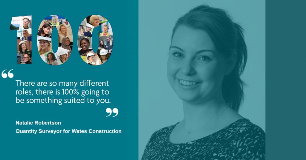 Natalie Robertson - Quantity Surveyor, Wates Construction