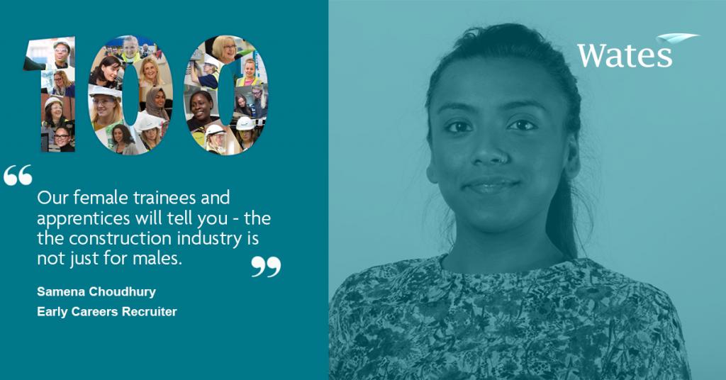Samena Choudhury - Early Careers Recruiter, Wates Group
