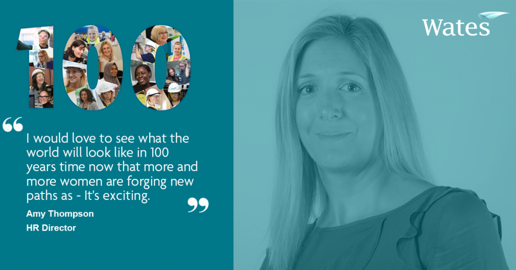 Amy Thompson - HR Director, Wates Construction