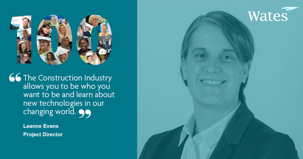 Leanne Evans - Project Director, Wates Construction North Home Counties