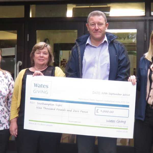 Southampton charity receives £9,000 boost from Wates Giving