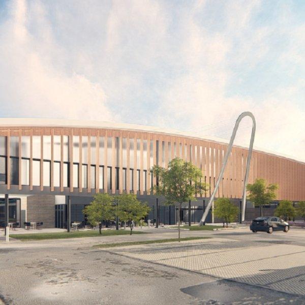 Braywick Leisure Centre build gets underway