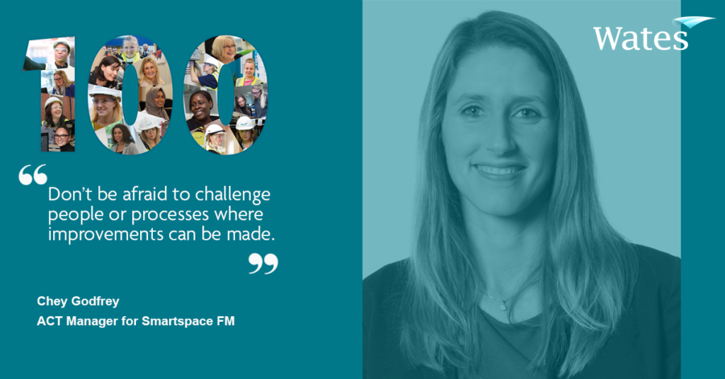 Chey Godfrey - ACT Manager, Wates Smartspace