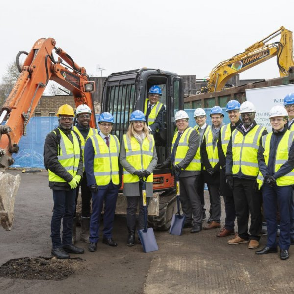 Wates Residential breaks ground on Wandsworth Councils new housing development