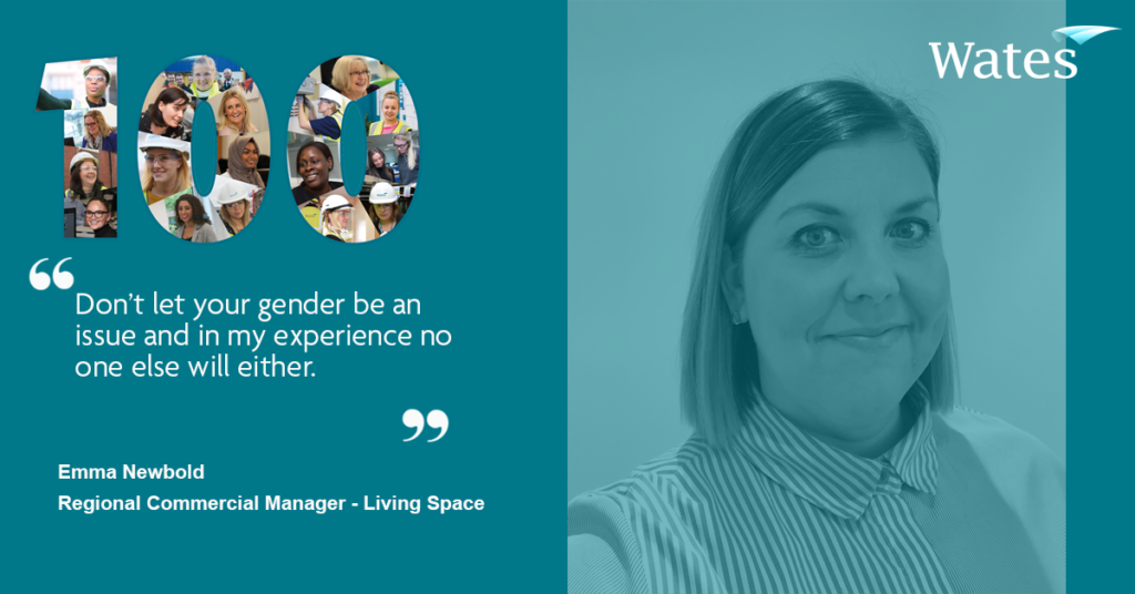 Emma Newbold - Regional Commercial Manager, Wates Living Space