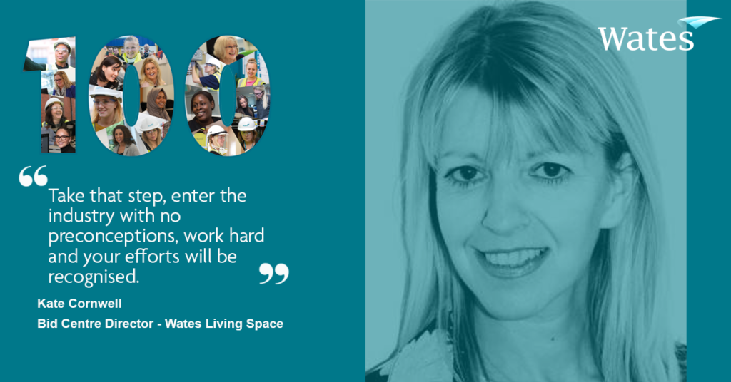 Kate Cornwell - Bid Director, Wates Living Space