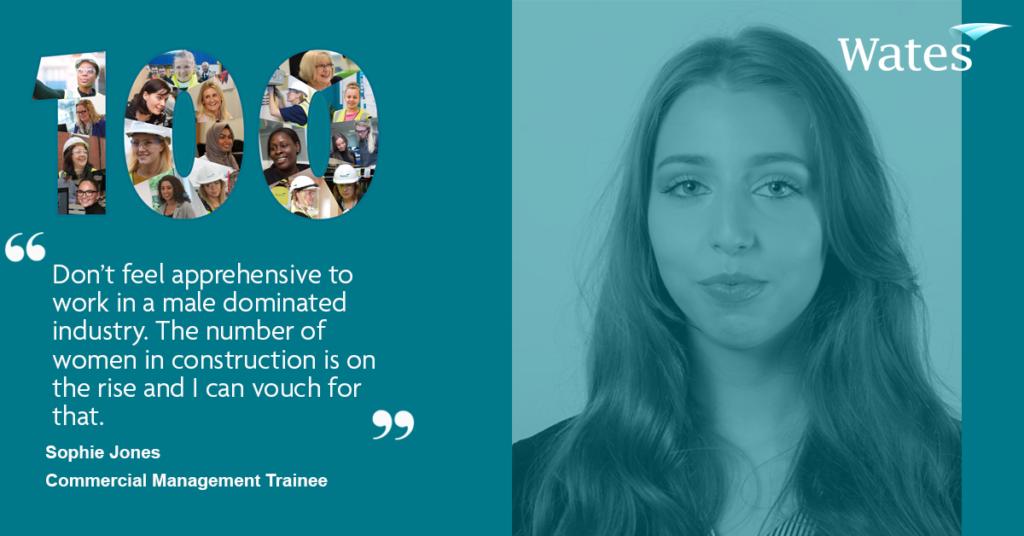 Sophie Jones - Commercial Management Trainee, Wates Construction Midlands