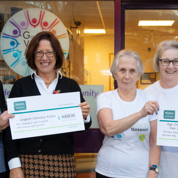 Wates Residential donates £18,000 in grants to Gosport community via Wates Giving