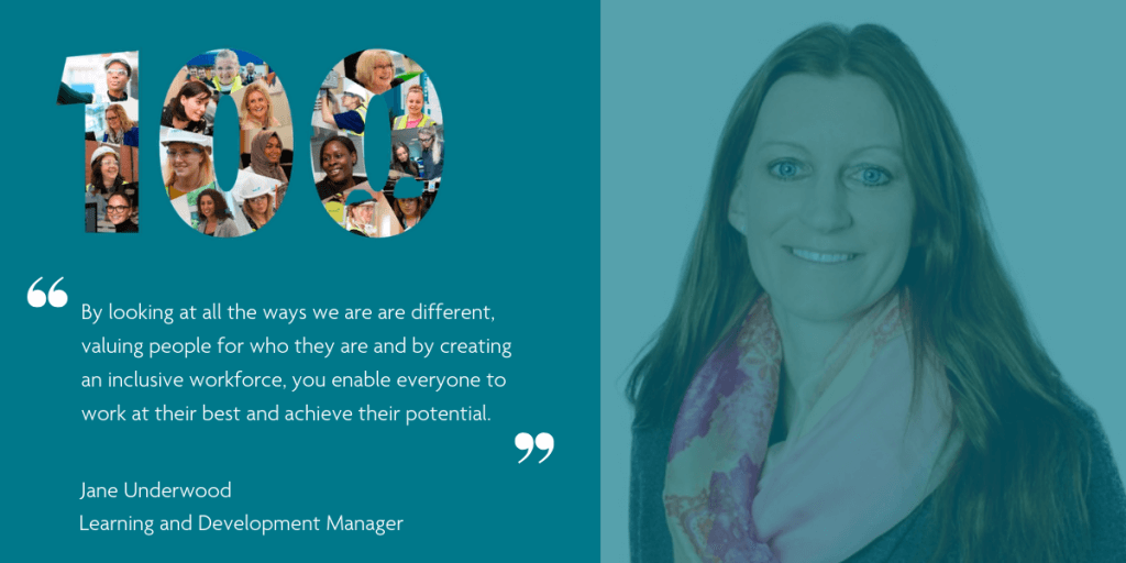 Jane Underwood - Learning and Development Manager, Group Services