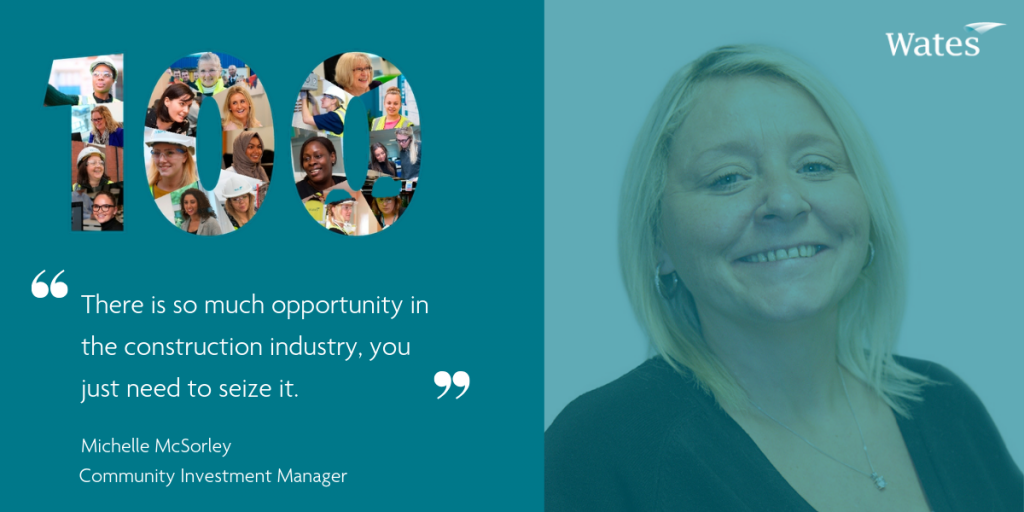 Michelle McSorley - Community Investment Manager, Wates Residential South