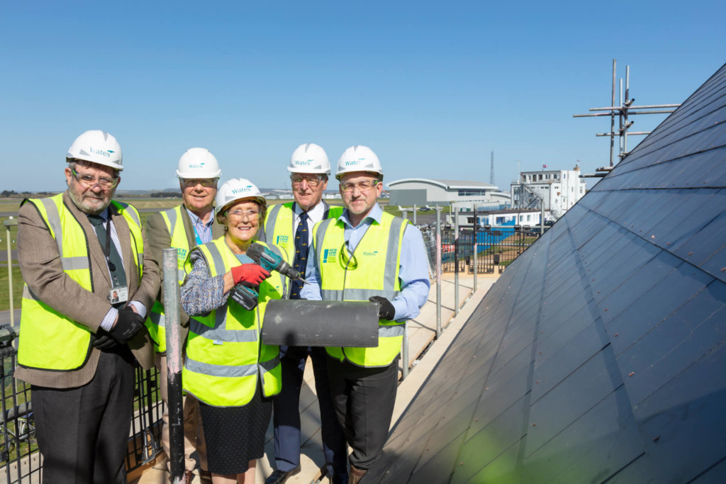 Wates Residential - Daedalus Village topping out ceremony
