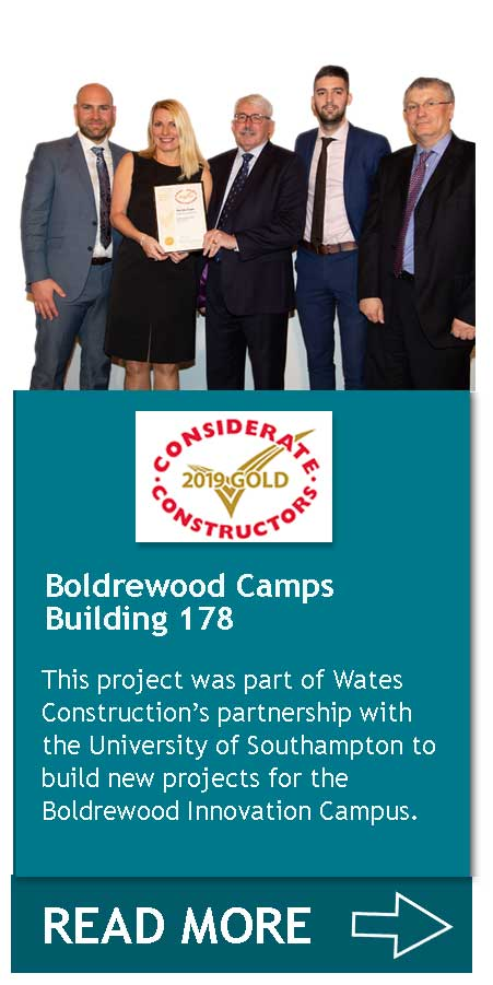 Boldrewood Camps Building 178 - Living Space CCS Gold Award