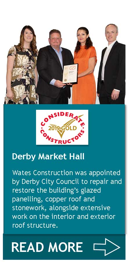 Derby Market Hall - Living Space CCS Gold Award