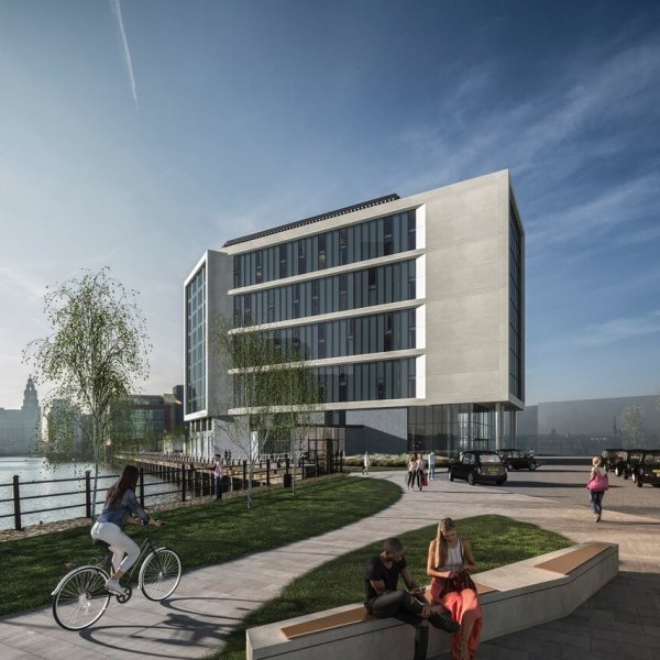 Planning Application submitted for Liverpool cruise terminal hotel
