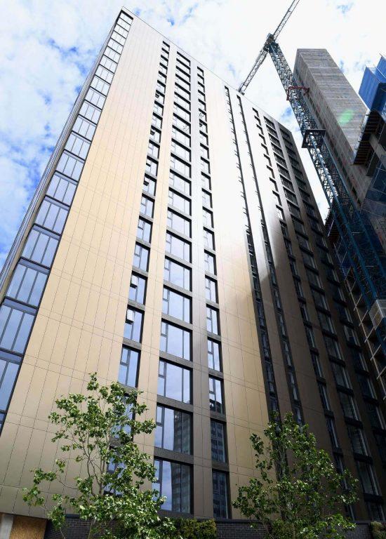 The Bank Construction Birmingham Wates Construction Sustainability Awards