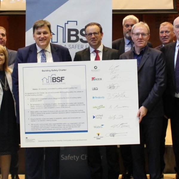 New Building Safety Charter launched