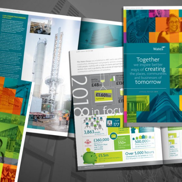 Wates Annual Review 2018: Creating tomorrow together
