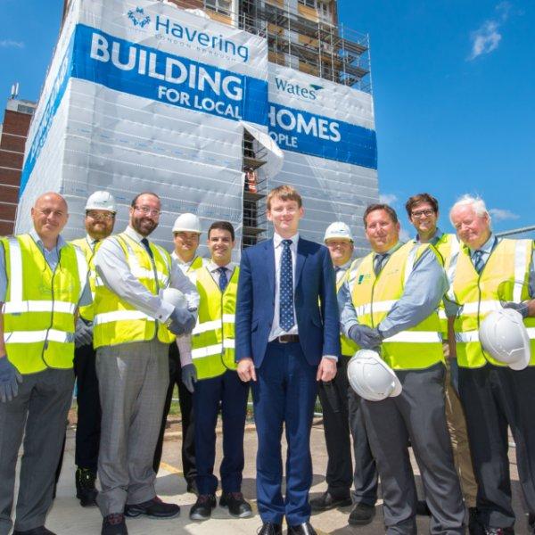 Demolition begins on £1 billion London regeneration project