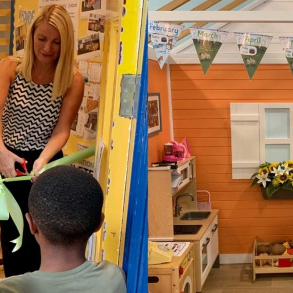 Work completes to create nurture room at Hannah More Primary