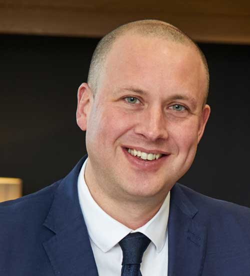 David Wingfield, Business Unit Director for Wates Construction North East & Yorkshire
