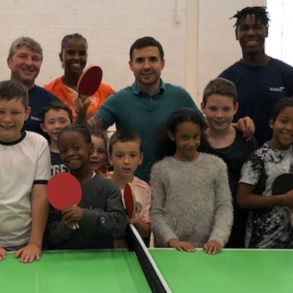 'Fit & Fed' - sporting hero joins summer camp in Brent