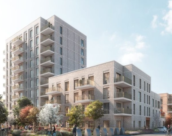 First plans approved for London's £1bn regeneration project