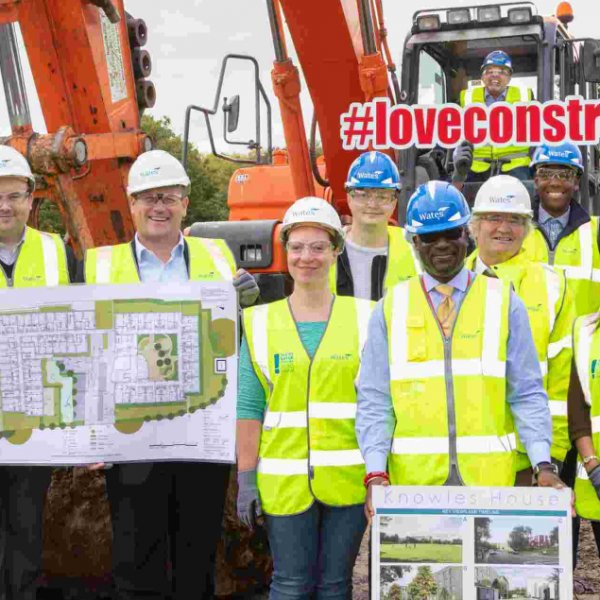 Work begins on 149 new council homes in Harlesden