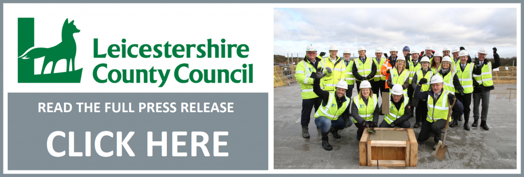 Wates Construction midlands business commercial sector progress topping out project building