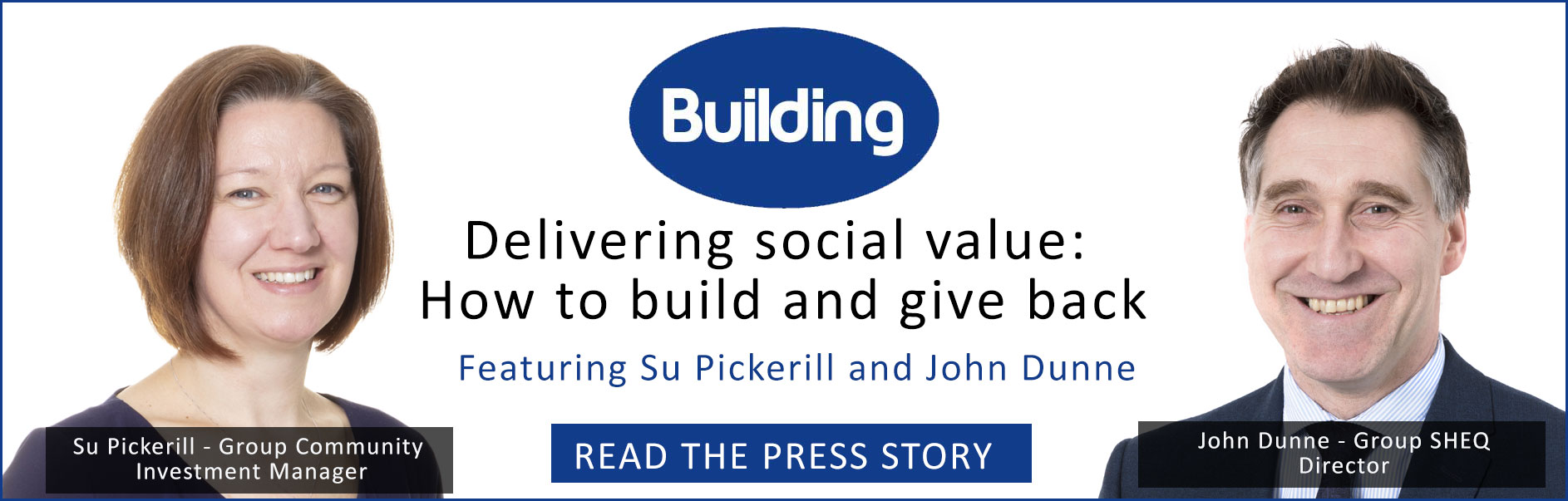 Delivering social value - How to build and give back