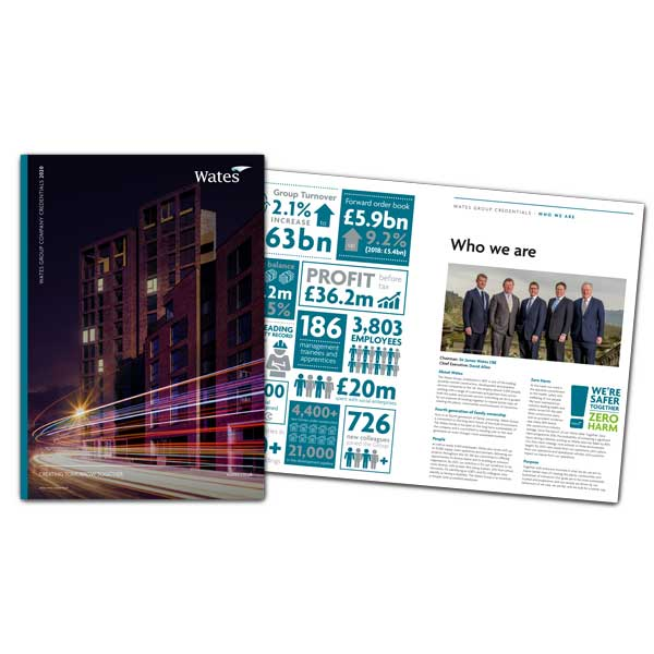 Wates Group credentials 2020