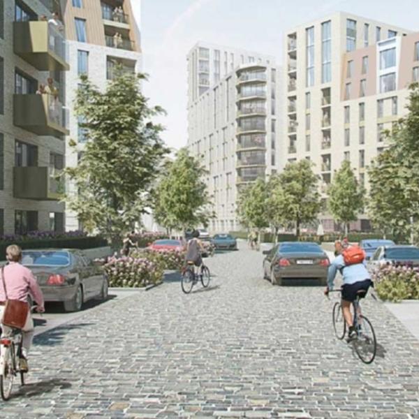 Borough of Havering Housing Redevelopment, London