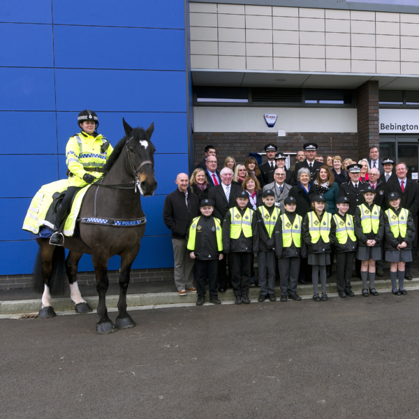 Bebington Police Station officially reopens its doors
