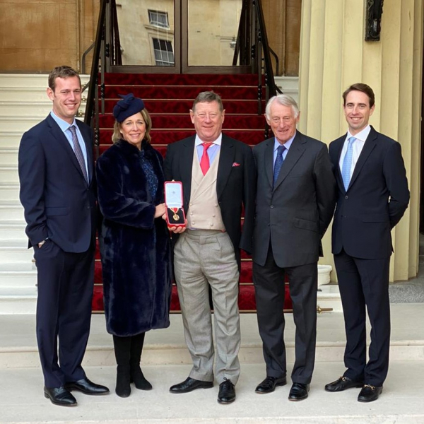 Wates Chairman receives Knighthood at the Palace
