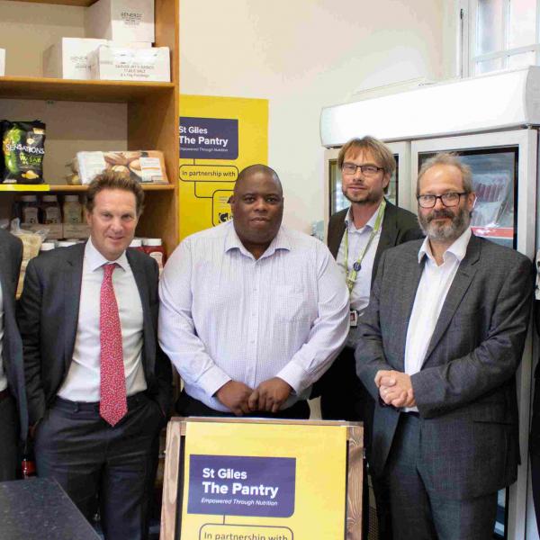 Wates Living Space helps create pioneering community 'food pantry'