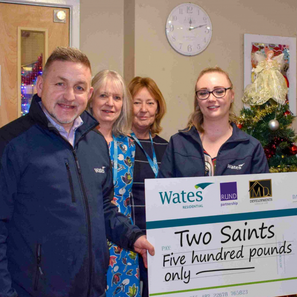 Wates Residential supports homeless in Gosport as winter freeze sets in