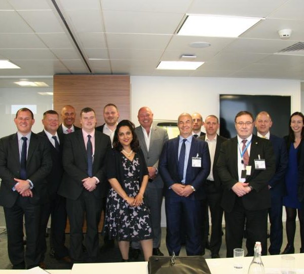Wates Smartspace hosts first green Dragons Den