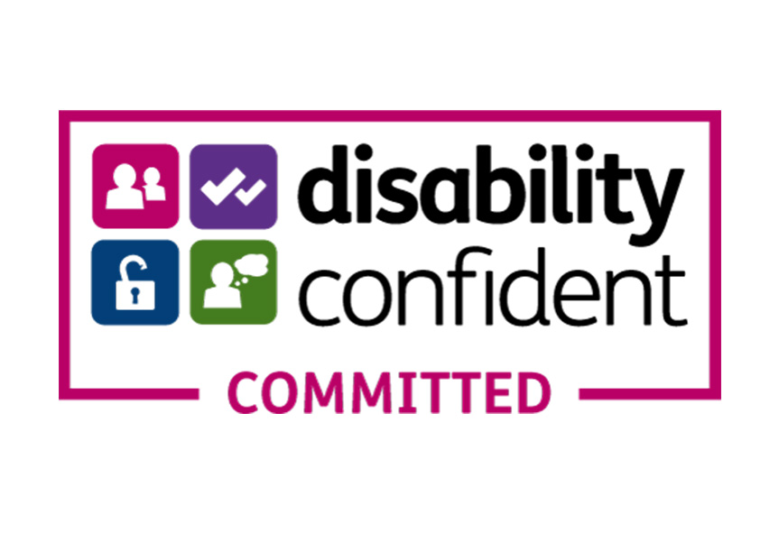 A recognised Disability Confident Committed employer
